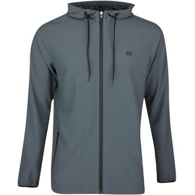TravisMathew Golf Jumper - Got a Runner Hoodie - Dark Grey SS21