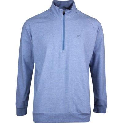 TravisMathew Golf Jumper - Zachary HZ - Htr Light Blue SS21