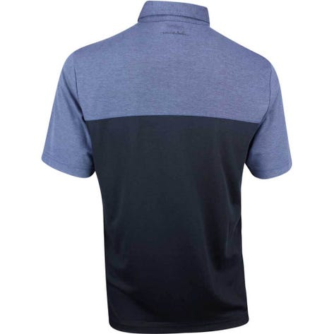 TravisMathew Golf Shirt - Big Mike Polo - Vintage Indigo SS19
