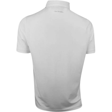 TravisMathew Golf Shirt - Dogwood Polo - White - Green SS19