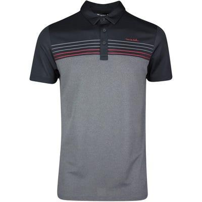 TravisMathew Golf Shirt - Cainsville Polo - Black SS21