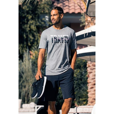 TravisMathew - Leisure Graphic Tee Shirt - Campaign SS21