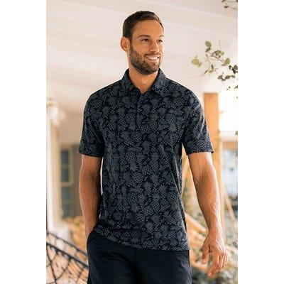 TravisMathew - Pineapple Print Golf Shirt - Campaign SS21