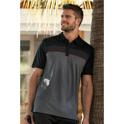TravisMathew - Colour Block Polo Shirt - Campaign SS21
