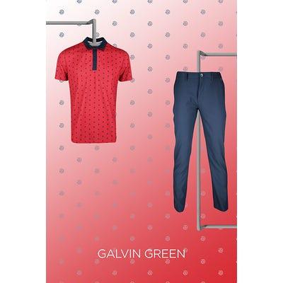 Troy Merritt - US Open Saturday - Galvin Green Golf Shirt 2021