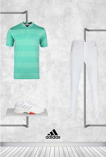 Tyrrell Hatton - US PGA Sunday - adidas Blade Collar Polo 2021