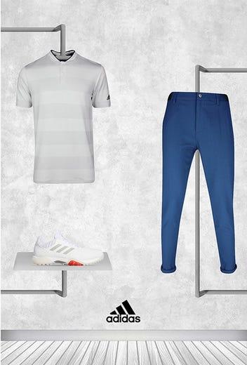 Tyrrell Hatton - US PGA Friday - adidas Blade Collar Shirt 2021