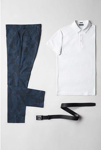 Viktor Hovland - US PGA Saturday - Navy Camo Golf Pants 2021
