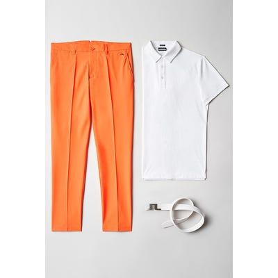 Viktor Hovland - Orange JL Golf Trousers - TPC Sawgrass 2021