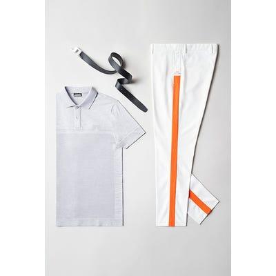 Viktor Hovland - JL Orange Side Stripe Pant - TPC Sawgrass 2021