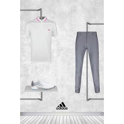 Xander Schauffele - Masters Sunday - White adidas Golf Shirt 2021