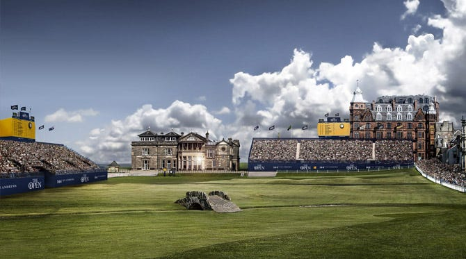 The Open Championship Preview - St Andrews 2015