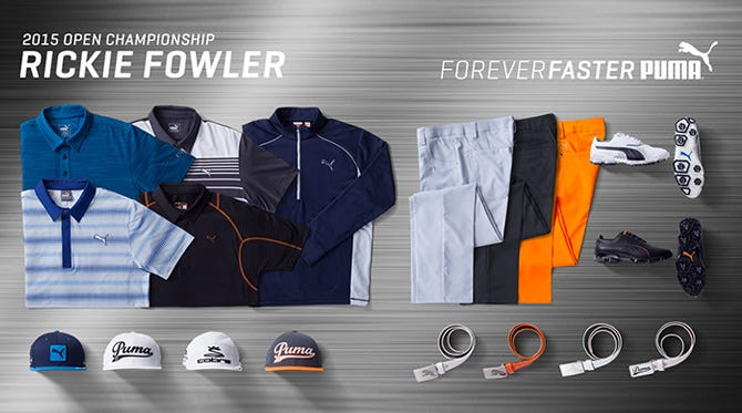 Rickie Fowler Open Championship Scripts - St Andrews 2015