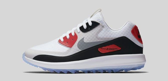 Nike Infrared Air Max Golf Shoes - Zoom 90 IT