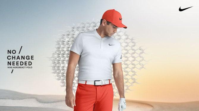 Nike Aeroreact Golf Wear | Polo Shirts & Mid Layers