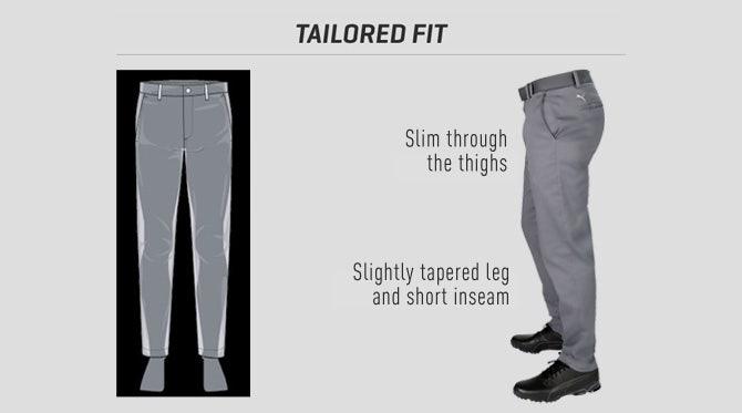 Puma-Golf-Trousers-Tailored-Fit-Diagram