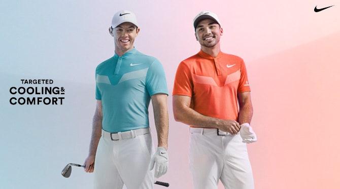 Nike Zonal Cooling Golf Shirts   Summer 2017