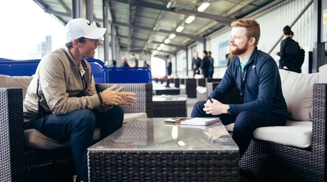 Rory McIlroy Interview Exclusive | Nike Golf Club LDN 2017