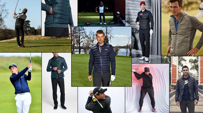 Hybrid Golf Jackets | Outerwear Style Trend 2017