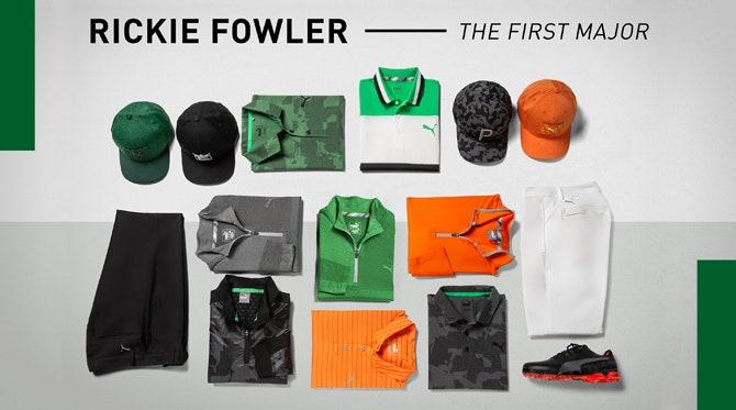 Rickie Fowler Masters 2019 | PUMA Golf Scripts