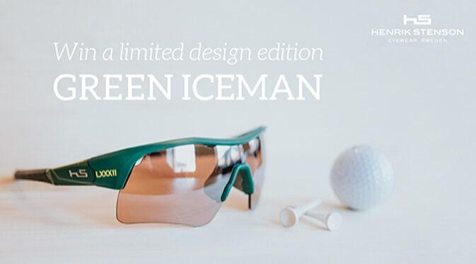 Henrik Stenson Sunglasses | Special Edition Green Iceman Frame