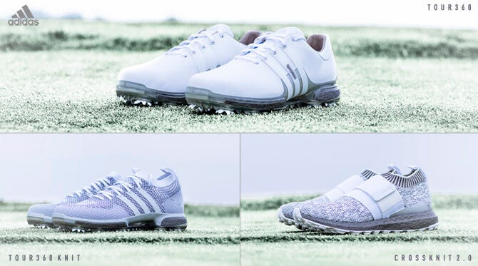 adidas Silver Boost Golf Shoes | THE PLAYERS Championship 2018