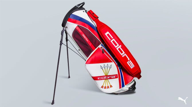 Rickie Fowler US Open Stand Bag | Shinnecock Hills 2018