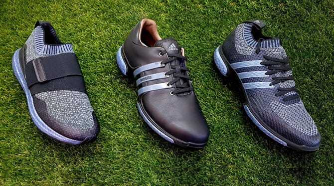 adidas Blue Boost Golf Shoes | Where to Buy Limited Edition ...