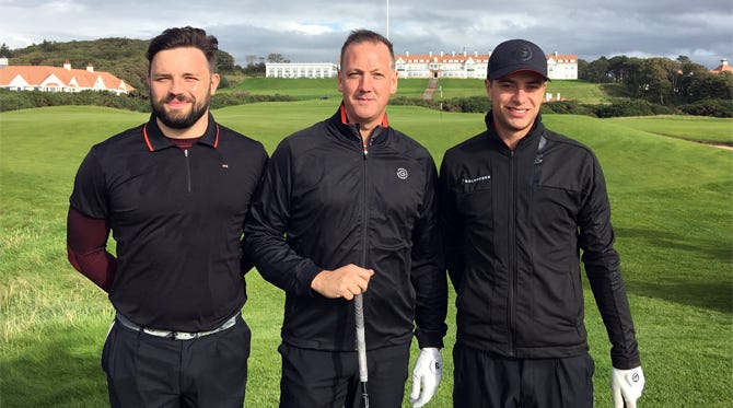 Galvin Green EDGE Review   Turnberry Experience Day 2018