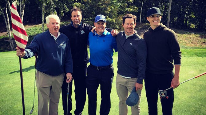 Mark Wahlberg Golf Brand | TravisMathew M Logo