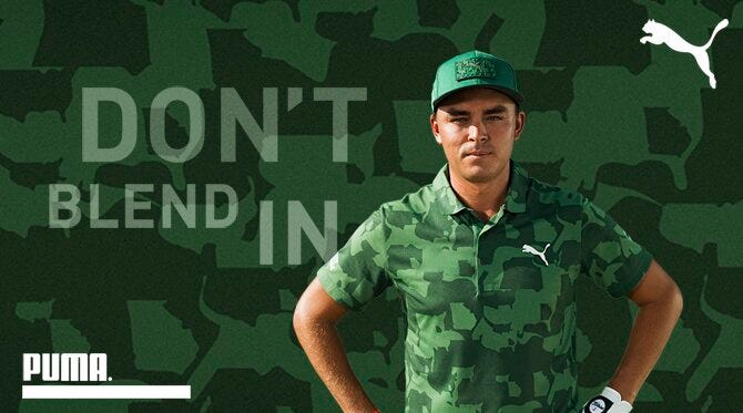 PUMA Golf Camouflage Collection   Union Camo Pack 2019