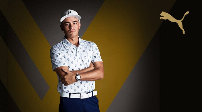 X Collection by PUMA Golf | Rickie Fowler Limited Edition Styles