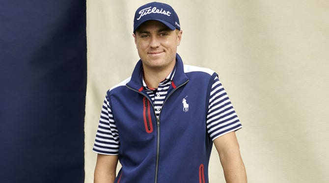 Justin Thomas POLO Golf Capsule by Ralph Lauren