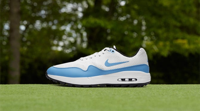 Nike Air Max 1 Mesh Golf Shoes | New Spikeless Styles 2020