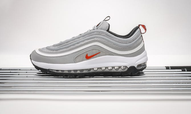 Nike Air Max 97 Golf Shoes | Where to Buy Triple White AM97G