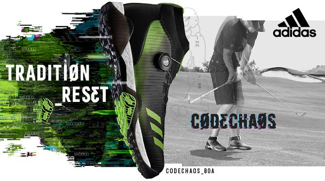 adidas CODECHAOS | Primeknit BOA Golf Shoes with BOOST