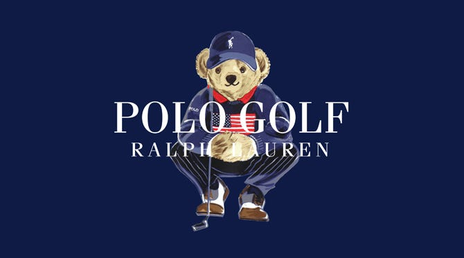 Ralph Lauren POLO Bear | Golf Capsule 2020