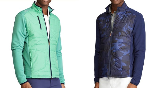 Ralph Lauren Quilted Front Golf Jackets | RLX Coolwool Styles