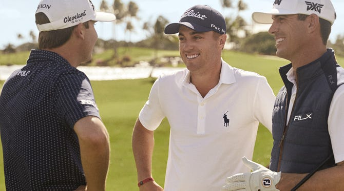 Ralph Lauren Tour Golfers | RLX and POLO Players