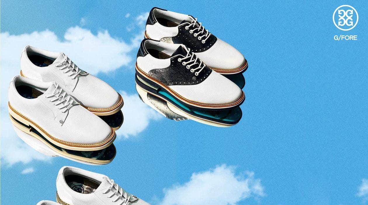 G/FORE Gallivanter Golf Shoes Saddle