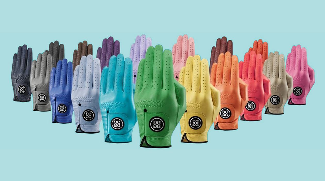 G Fore Golf Glove Colours