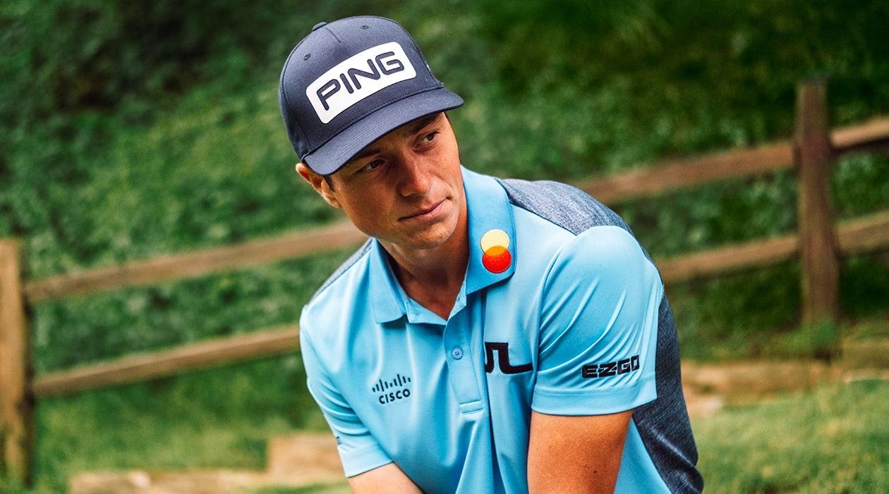J.Lindeberg Tour Golfers Viktor Hovland
