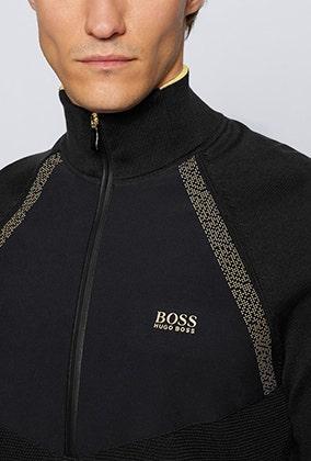 BOSS Golf Zaxel Hybrid Quarter Zip