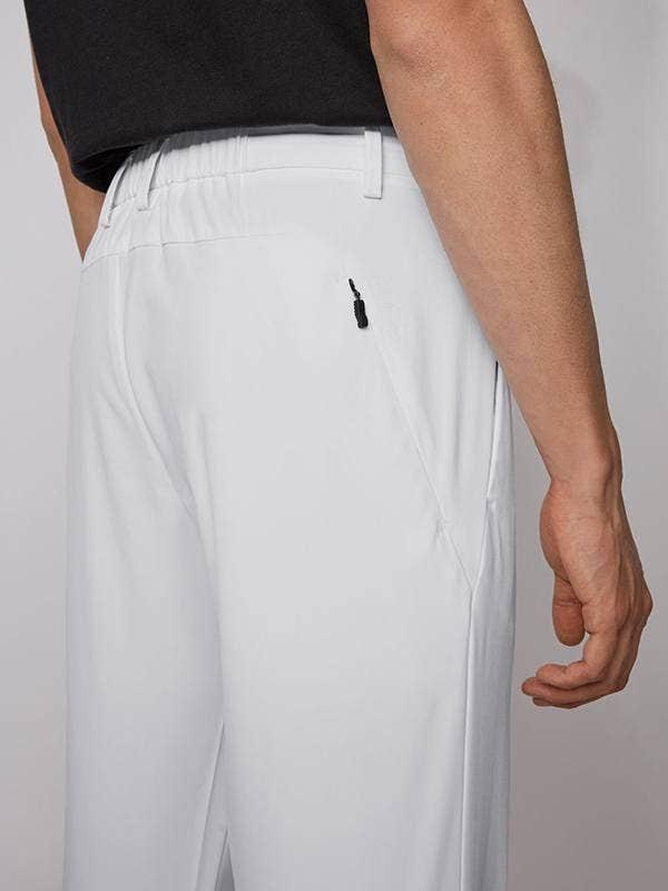 BOSS Spectre Golf Trousers White Slim Fit