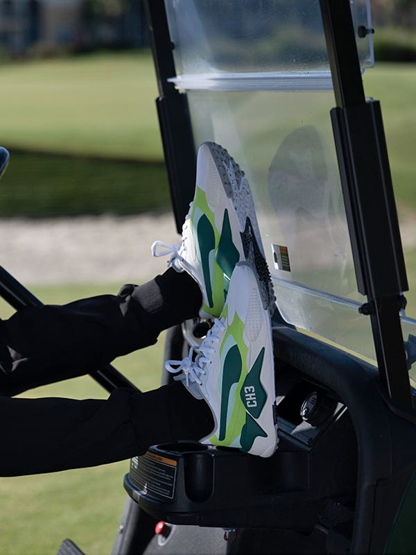 PUMA RS-G Golf Shoes Custom Open Championship Green