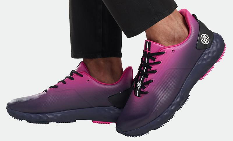 G Fore Pink Black Ombre MG4 Plus Golf Shoes