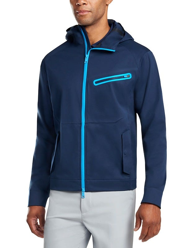 G Fore Hooded Jacket Blue