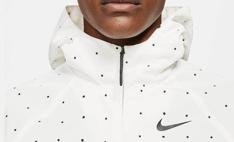Nike Golf Space Dot Hooded Jacket White