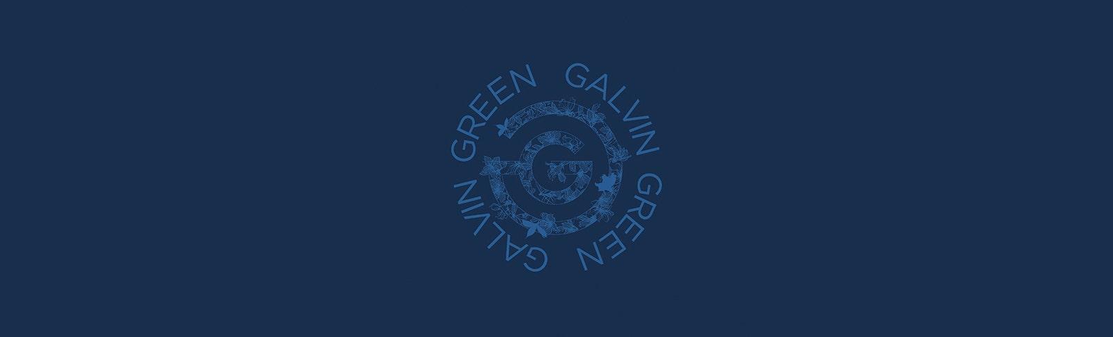 Galvin Green Azalea Logo Blue