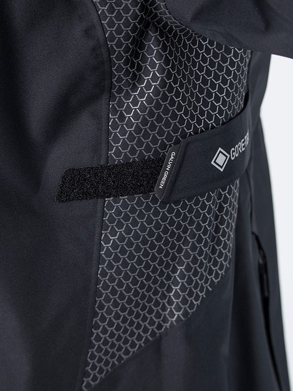 Galvin Green Action Waterproof Golf Jacket C-Knit Black
